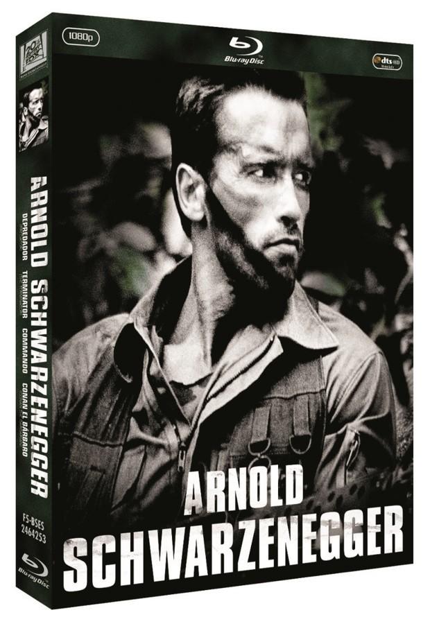 Pack Arnold Schwarzenegger Bdr1 L