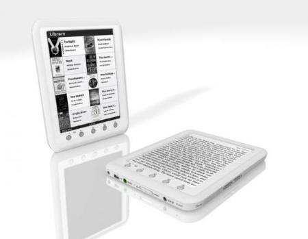 Mustek Mer-6T, un lector de libros electrónicos más