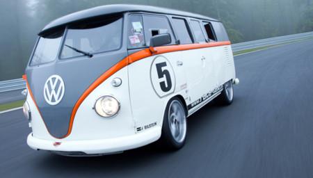 Esta Volkswagen T1 monta un motor de 993 Turbo ¡con 530 CV!
