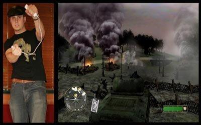 Call of Duty 3, versión Wii