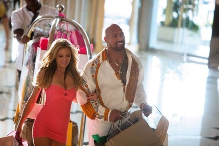 Bar Paly y Dwayne Johnson