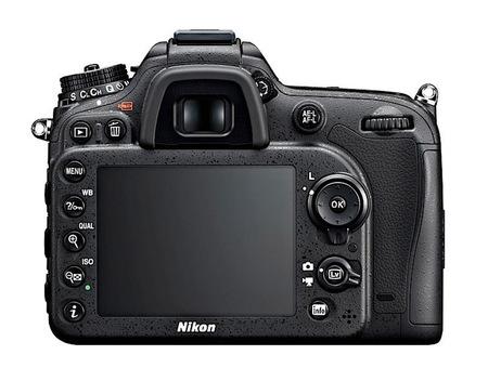 Nikon D7100 vista trasera