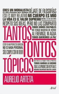 'Tantos tontos tópicos' de Aurelio Arteta