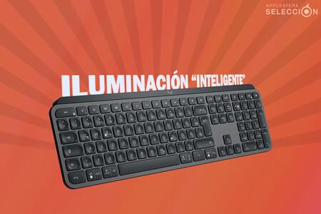El teclado Bluetooth retroiluminado Logitech MX Keys a 82,64 euros en Amazon es el complemento idóneo para los Mac