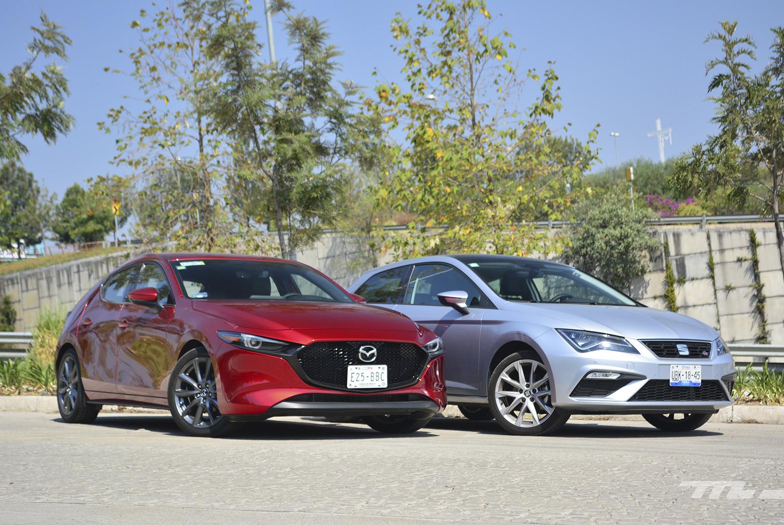 Foto de Mazda 3 vs. SEAT León (comparativa) (10/28)