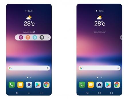 LG UX 6.0+: así es como LG quiere compensar la falta de segunda pantalla en el LG V30
