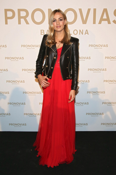 Carmen Jorda Photocall Pronovias Fashion Show