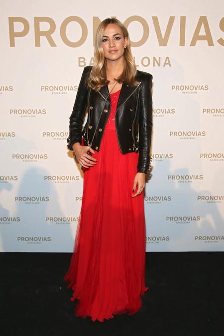 Carmen Jorda Photocall Pronovias Fashion Show