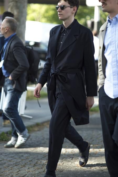 El mejor street-style de la semana: ¿aceptamos chanclas con calcetines?