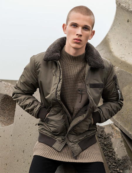 Pull Bear Outerwear Power Lookbook Editorial Fall Winter 2016