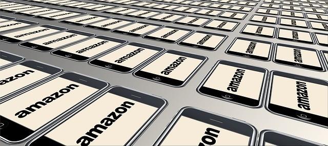Teclas con el logo de Amazon.