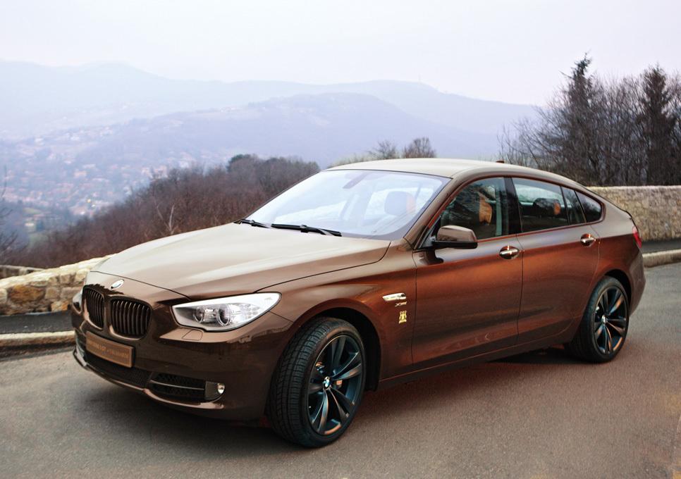 Foto de BMW Serie 5 Gran Turismo Trussardi (8/12)