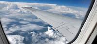Una Surface RT de viaje, usándola a treinta mil pies de altura