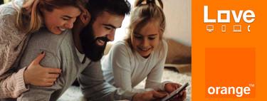 Orange impulsa su oferta convergente: nuevas tarifas Love con más datos y televisión a partir de 52,95 euros al mes