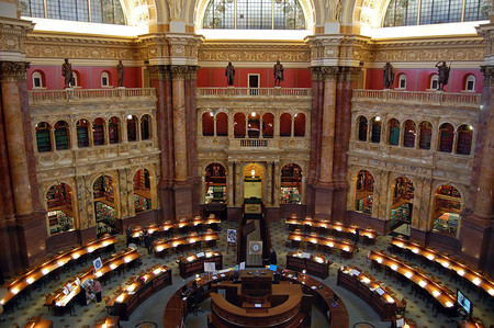 The Library Of Congress Washington D C Usa