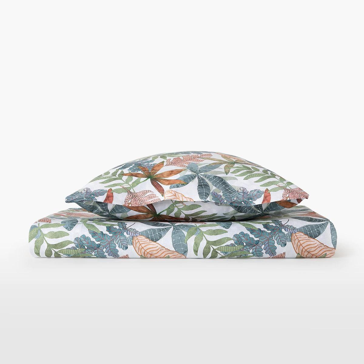 Juego de sábanas algodón sostenible Oak  para cama 135 cms