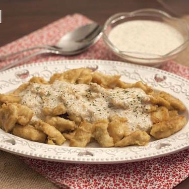 Receta fácil y rápida de pollo al curry con cacahuetes, para mojar pan y no parar