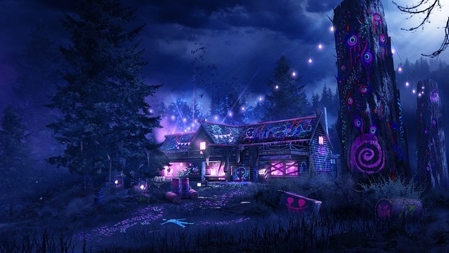 Call Of Duty Infinite Warfare Rave In The Redwoods
