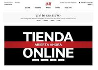 H&M abre su tienda 'online' en España y ofrece el envío gratuito