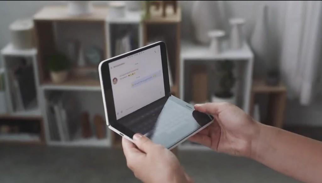 Aplicaciones divididas en dos: así querría aprovechar Microsoft℗ la doble pantalla del Surface Duo