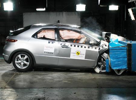 El Honda Civic se beneficia del cambio de calificación en EuroNCAP
