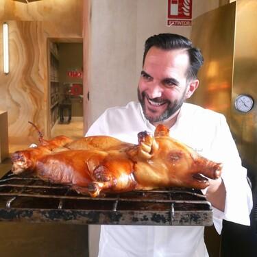 Cómo hacer el mejor cochinillo asado de Navidad en casa con los trucos de Mario Sandoval, chef del dos estrellas Michelin Coque