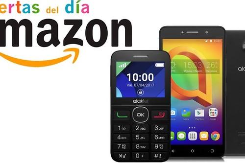 Ofertas en teléfonos de Alcatel en Amazon