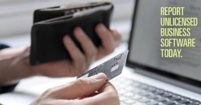 ¿Quieres pagar los préstamos de tu tarjeta? Reporta qué negocios usan software ilegal