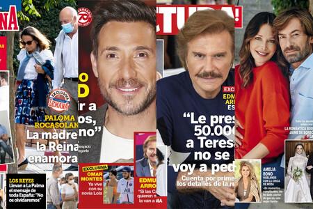 Bigote Arrocet estalla contra las Campos, Antonio David quiere hundir a Mediaset y Paloma Rocasolano tiene nuevo churri: estas son las portadas del miércoles 29 de septiembre