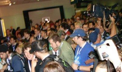 E3, entrada masiva