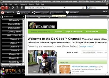 Blackbird, el navegador para la comunidad negra