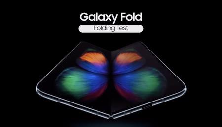 Samsung somete al Galaxy Fold a pruebas de plegado y nos lo muestra en vídeo: más de 200.000 dobleces, según la compañía