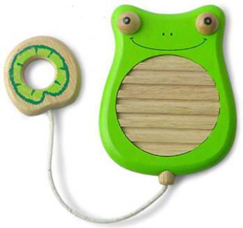 Bonitos instrumentos musicales de madera