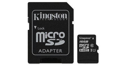 Kingston Microsd 16 Gbytes