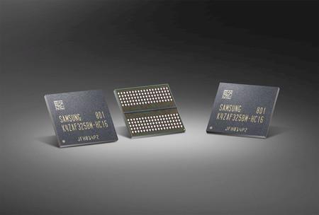 Samsung empieza a fabricar los primeros chips GDDR6 de 16 Gb del mercado