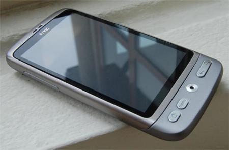Al HTC Desire le sienta muy bien el plata