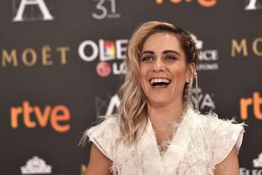 María León nos otorga el primer fallo de la alfombra roja de Los Goya 2017