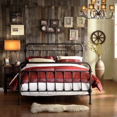 Cómo modernizar la vieja cama de tu abuela y que todos hagan… ¡Wow!
