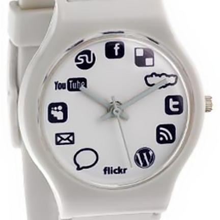 Social Networking, el reloj social