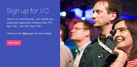 Google I/O 2014, ya está abierto el periodo de registro para la selección de los participantes
