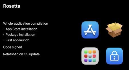 Características de Rosetta 2