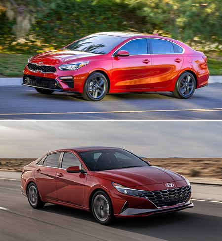 Kia Forte Vs Hyundai Elantra 3