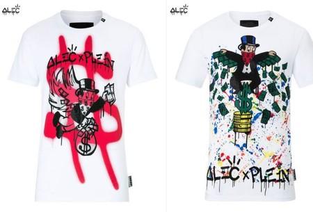 Philipp Plein Colabora Con El Artista Del Grafitti Alec En Una Coleccion Capsula Para Amantes Del Arte Urbano