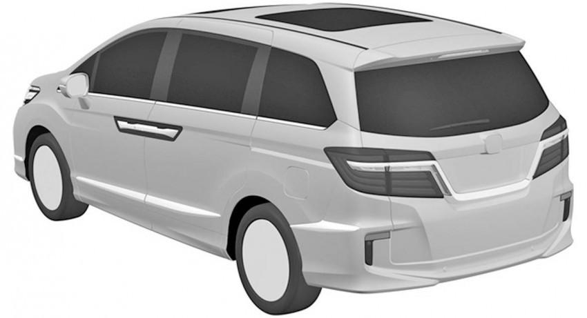 Honda Odyssey 2017 (filtraciones) (1/6)