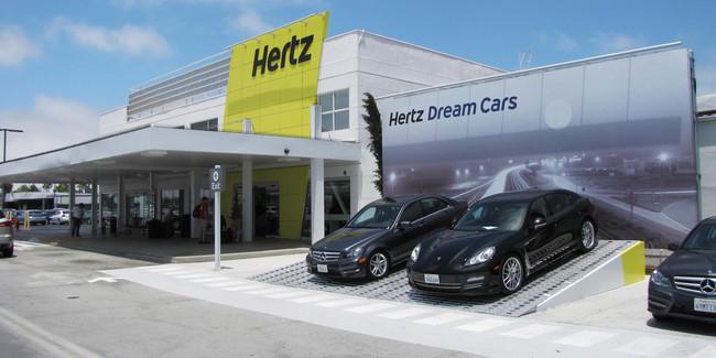 Hertz Default Location