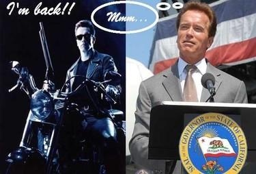 Arnold Schwarzenegger amenaza con volver a actuar