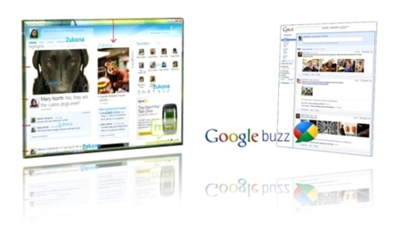 Google Buzz vs. Messenger