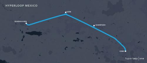 Mexloop, al estilo de Elon Musk, quiere conectar CDMX con Guadalajara en 40 minutos a más de 1,000 km/h