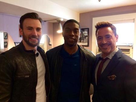 Chadwick Boseman es la Pantera Negra de Marvel, la imagen de la semana