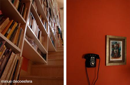 estantería escalera 4b